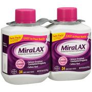 MiraLAX Powder Laxative 2-20.4 oz. Bottles