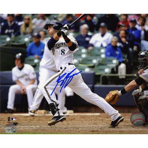 MLB - Ryan Braun Autographed Photograph | Details: Milwaukee Brewers, 8x10