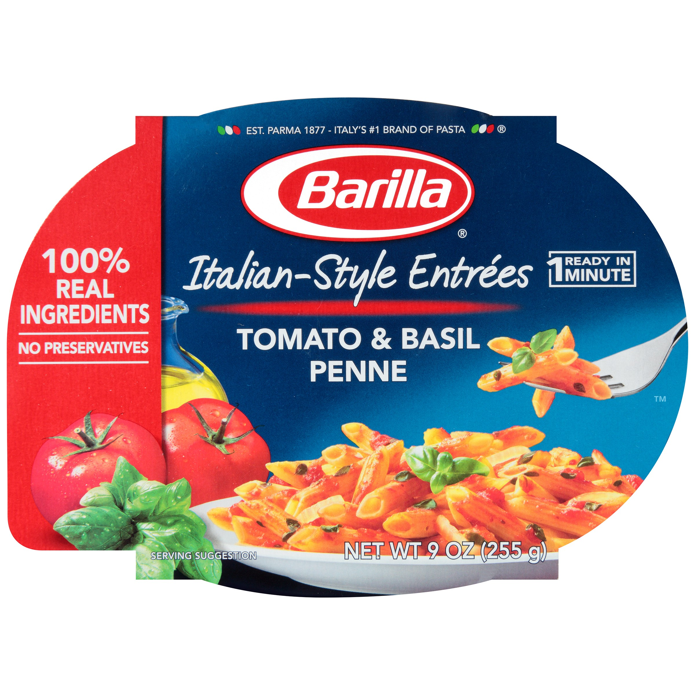 Barilla Italian-Style Entrees Tomato & Basil Penne Pasta, 9 oz by Barilla America, Inc.