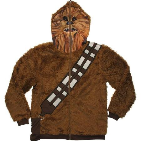 Chewbacca Mask Zip Hoodie](Chewbacca Sweatshirt)