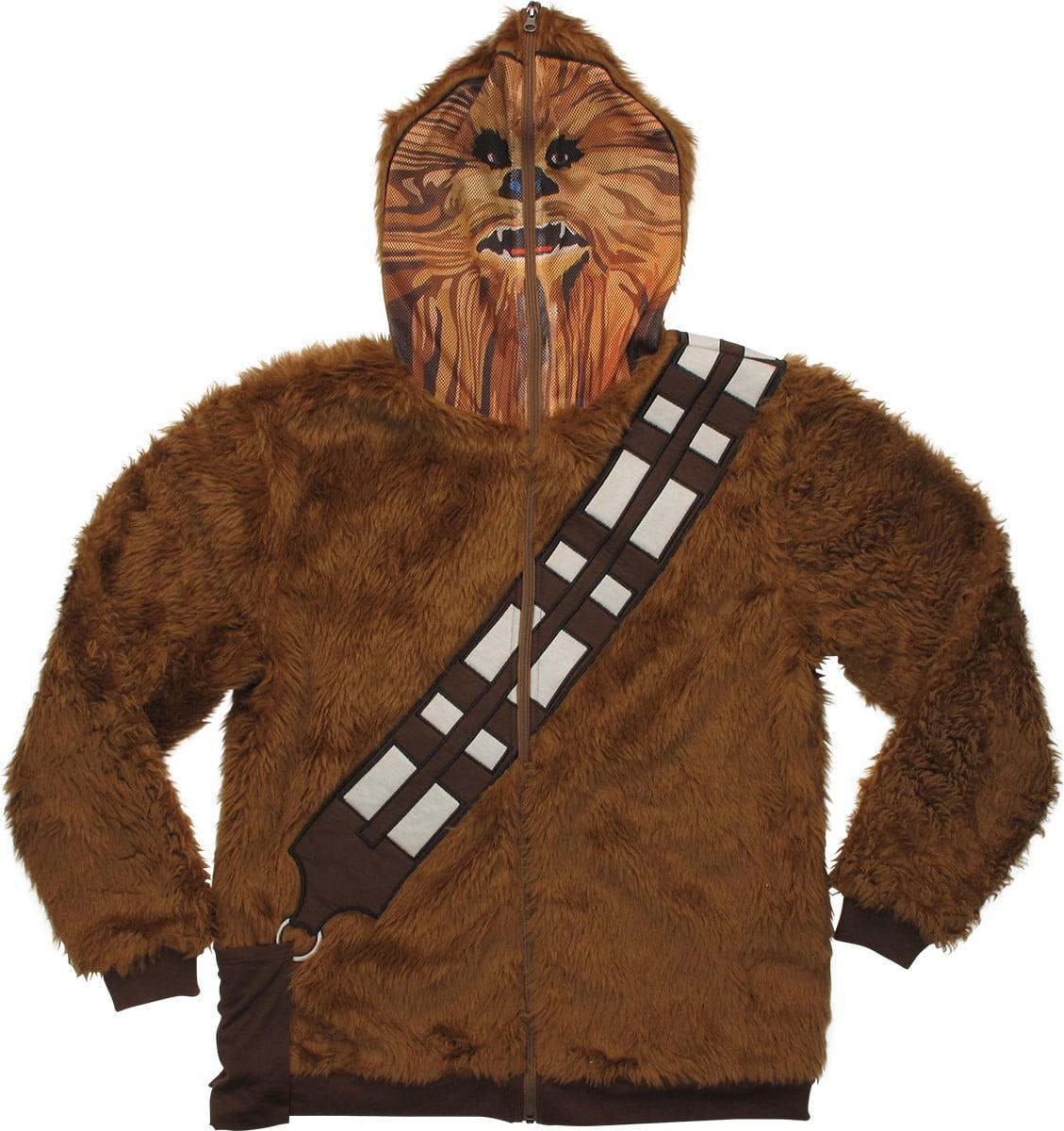 Chewbacca Mask Zip Hoodie