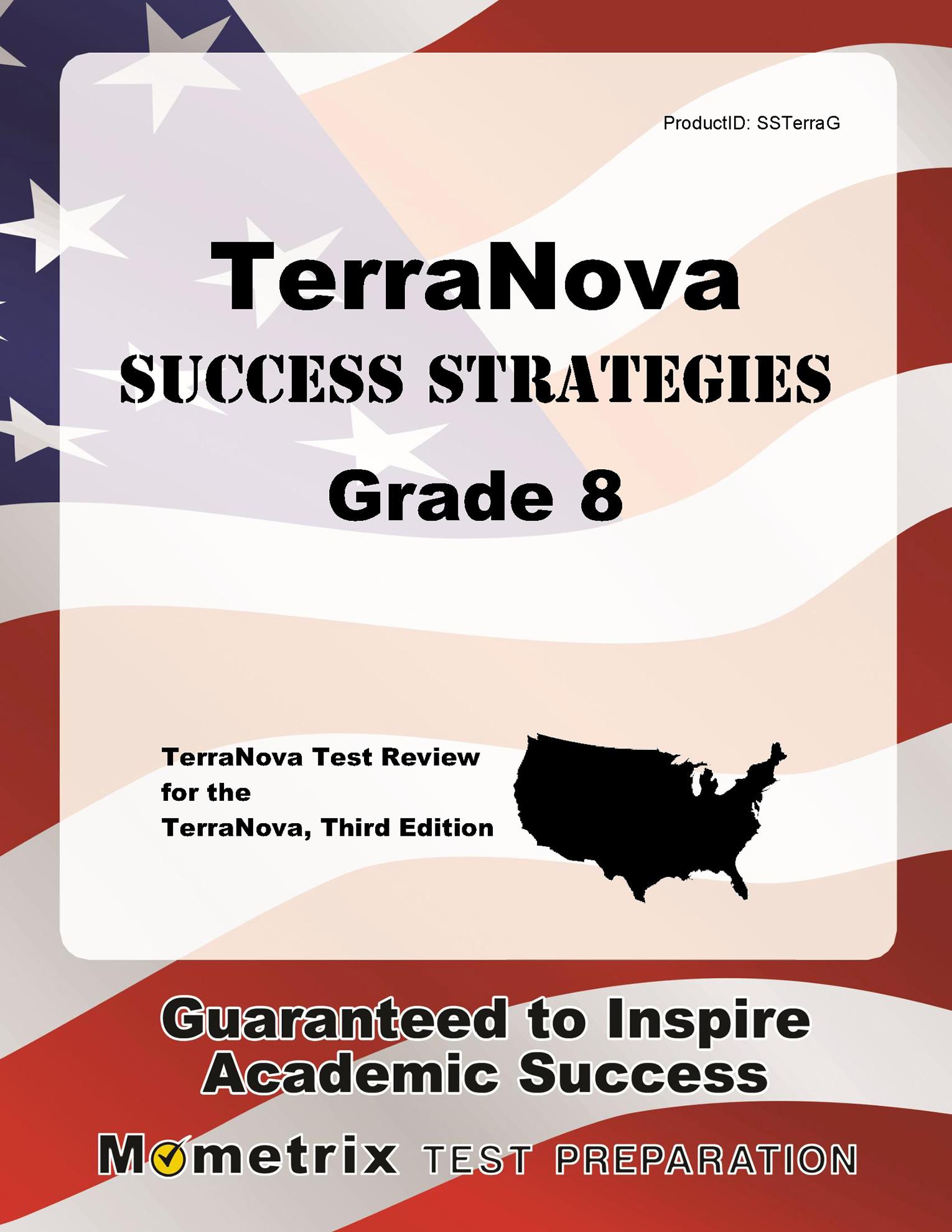 Terranova Success Strategies Grade 8 Study Guide : Terranova Test Review  for the Terranova, Third Edition - Walmart.com