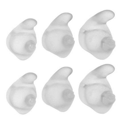 - Jabra C120 C150 Jawbone Small Medium Large Ear Gels (Clear)