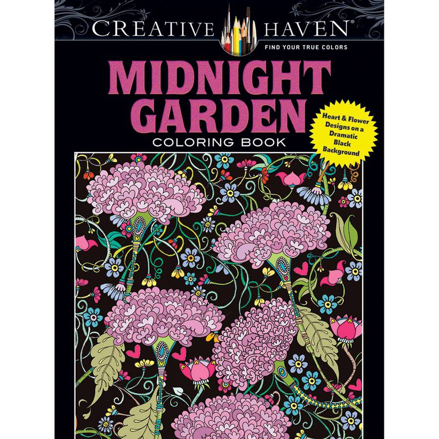 Dover Publications Creative Haven Midnight Garden