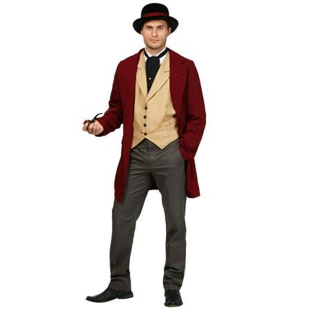 Plus Size Riverboat Gambler Costume (Gambler Costume)