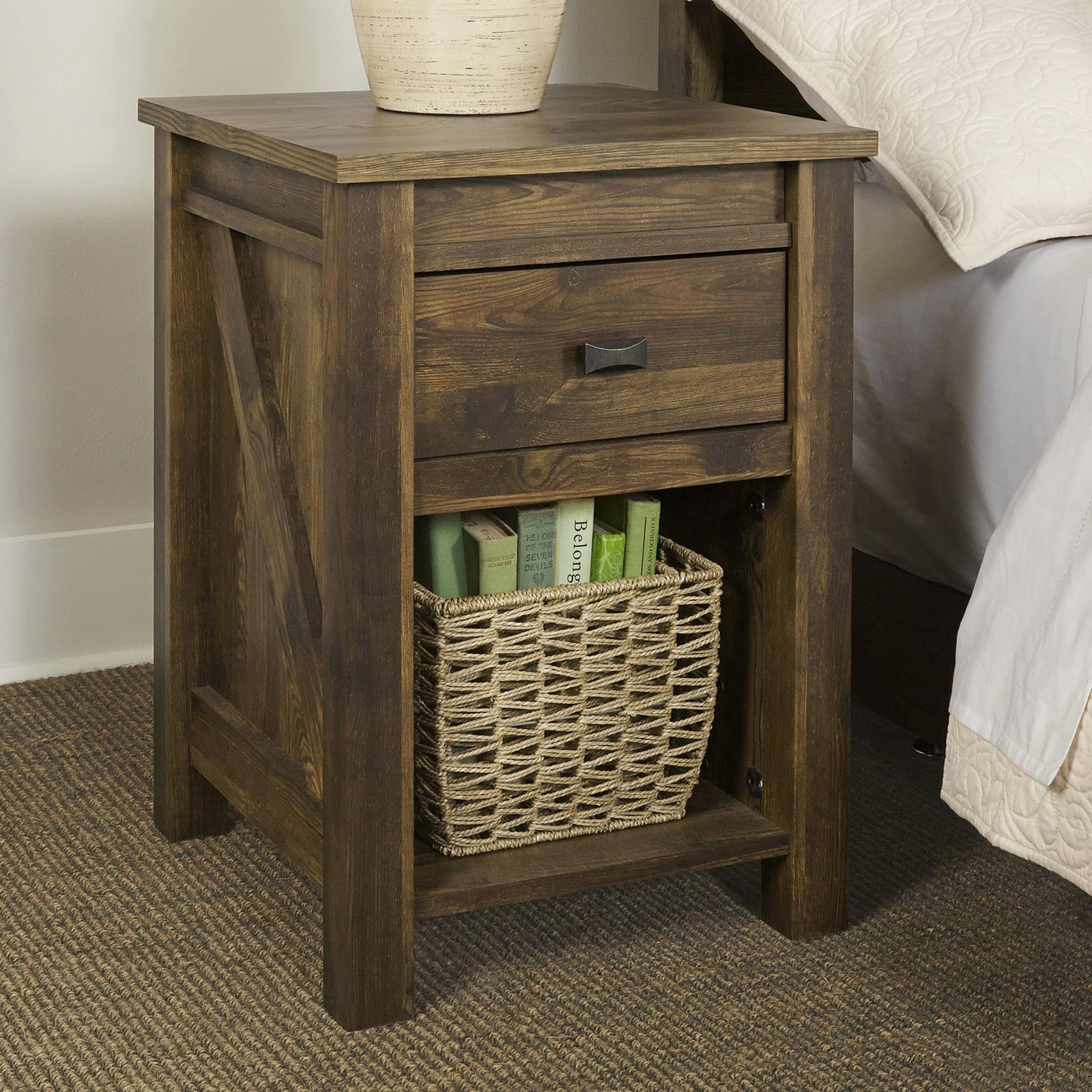 Better Homes & Gardens Falls Creek Side Table/Night Stand