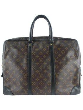 36c7a47bf88 Product Image Porte Monogram Porte-documents Voyage Attache Briefcase  19lz1217 Brown Coated Canvas Satchel. Louis Vuitton