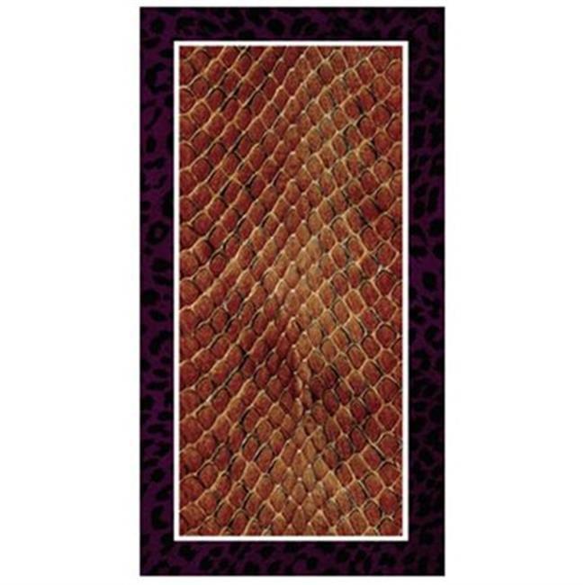 VersaTraction KG-RTLEOSNK No Slip Leopard Snake Shower Mat - image 1 de 1