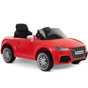 12V Audi Electric Battery-Powered Ride-On Car for Kids, Red