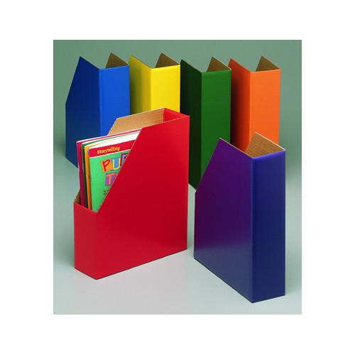 Edupress Magazine Files 6/pk One Each Green