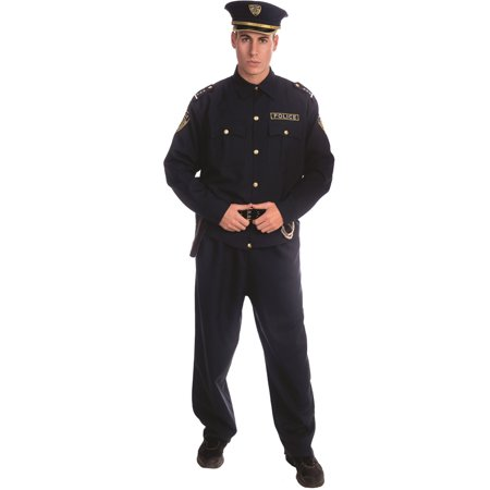 Adult Police Officer Costume Set - Small](Police Officer Adult Costume)