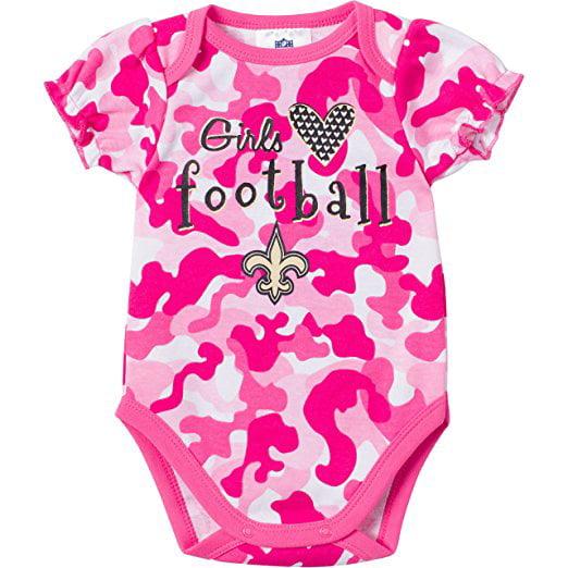 New Orleans Saints Team Newborn Camo Opu - Saints