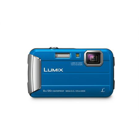 Panasonic Lumix Ts30 16 Megapixel Compact Camera - Blue - 2.7