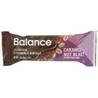 Balance Bar , Gold , Caramel Nut Blast, 1.76 Oz, Pack Of 6