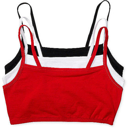 Fruit of the Loom - 3-Pack Strappy Sport Bras, Style 9036