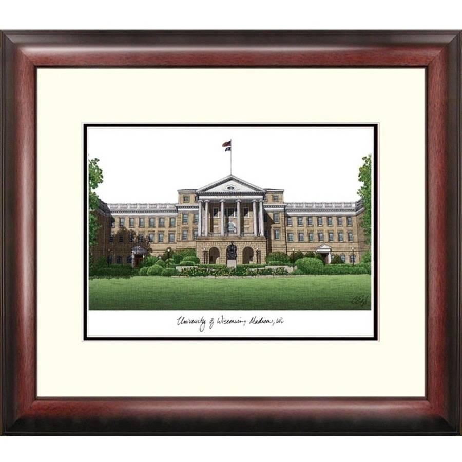 University of Wisconsin - Madison Alumnus Framed Lithograph