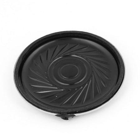 - Unique Bargains 40mm Round Shell Magnetic Type Slim Speaker Horn 8 Ohm 0.5Watt