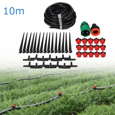 Water Drip Flower Pot Watering Irrigation System Accessory Pipe Set Home