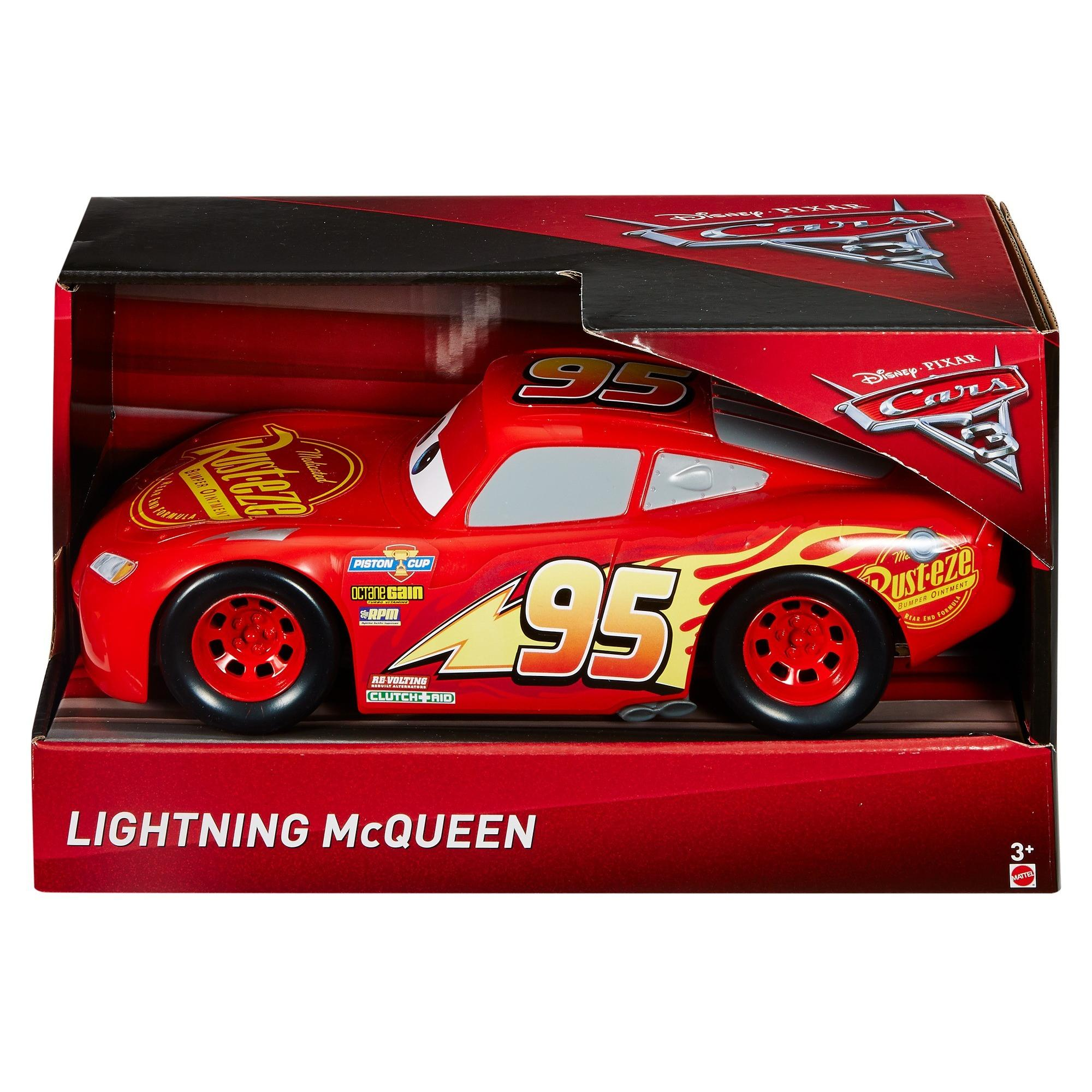 Disney Pixar Cars 3 Lightning Mcqueen 10 5 Scale Vehicle