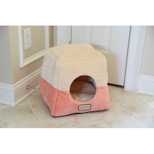 Armarkat Cat Bed, C07CCS/MH, Orange and Beige