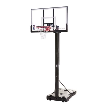 Spalding Nba Portable Basketball Hoop With 54 Polycarbonate