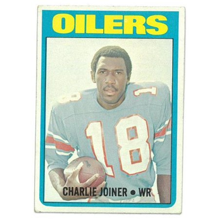 RDB Holdings & Consulting CTBL-021452 Charlie Joiner Houston Oilers 1972 Topps Football Rookie Trading Card No.244
