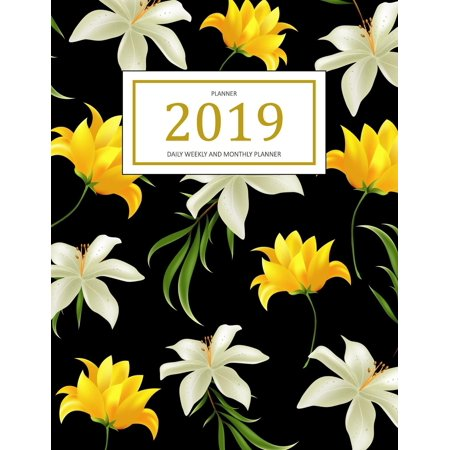 2019 Planner: A Year - 365 Daily - 52 Week Inspirational Quotes Journal Planner Calendar Schedule Organizer Appointment Notebook, Monthly Planner, to Do List, Action Day Passion Goal Setting