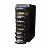 Produplicator SYS107HS Systor 1-7 SATA Hard Disk & Solid State Drive Duplicator & Sanitizer