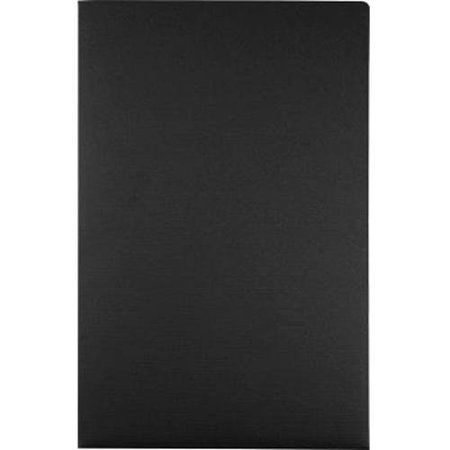 9 1/2 x 14 1/2 Legal Presentation Folders - Black Linen (50
