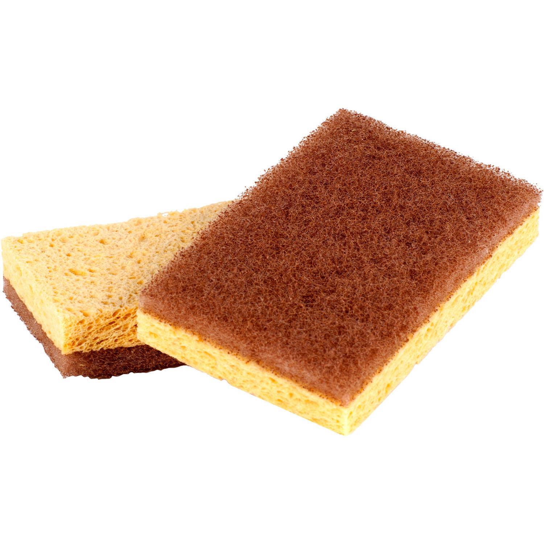 Full Circle Walnut Scrubber Sponges, FC11208 , 2 count
