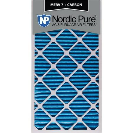 Nordic Pure 8 7 8x33 5 8x1CustomM7PlusC 6 MERV 7 Plus Carbon AC Furnac