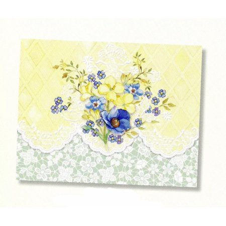 Carol's Rose Garden Sunny Bouquet Portfolio Blank 10 Card Set, 10 embossed blank cards By Carol Wilson Fine