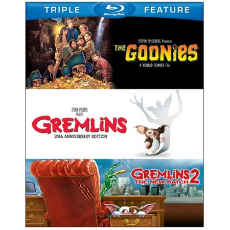 The Goonies   Gremlins   Gremlins 2  The New Batch  Blu Ray   Widescreen