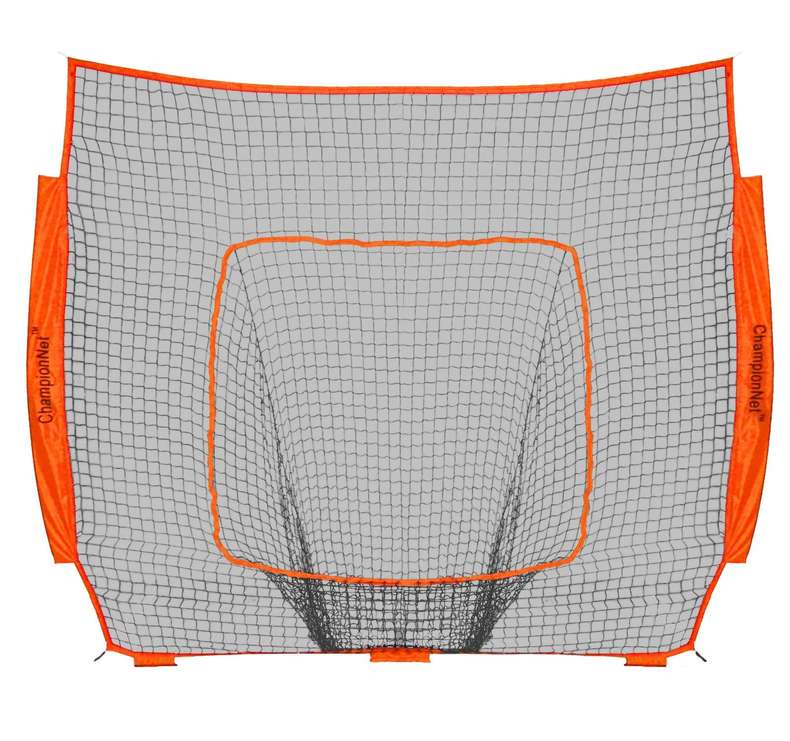 ChampionNet Baseball/Softball 7' x 7' Hitting Net Replacement NO FRAME - Orange
