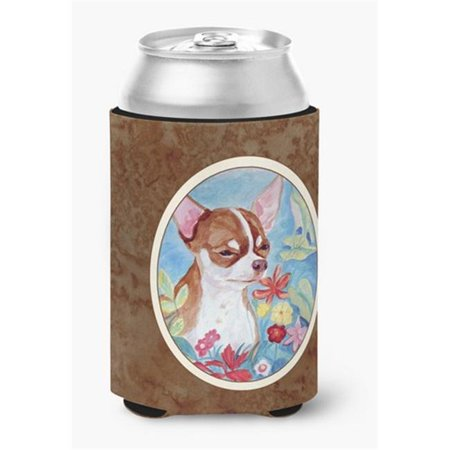 Chihuahua in Flowers Can or Bottle Hugger - image 1 de 1