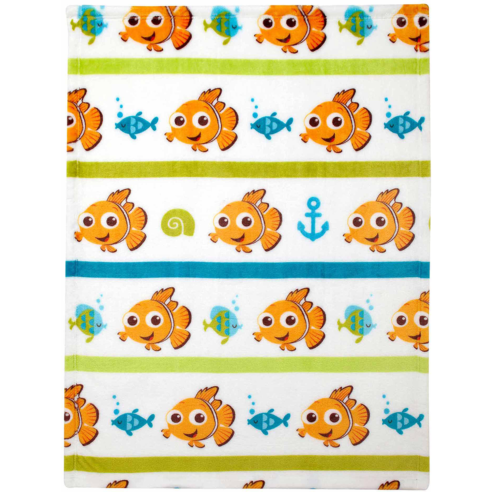 Disney Nemo Plush Printed Blanket