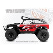 FreqEsKinz Red Chrome Hotrod Wrap Axial Deadbolt FRQ13012