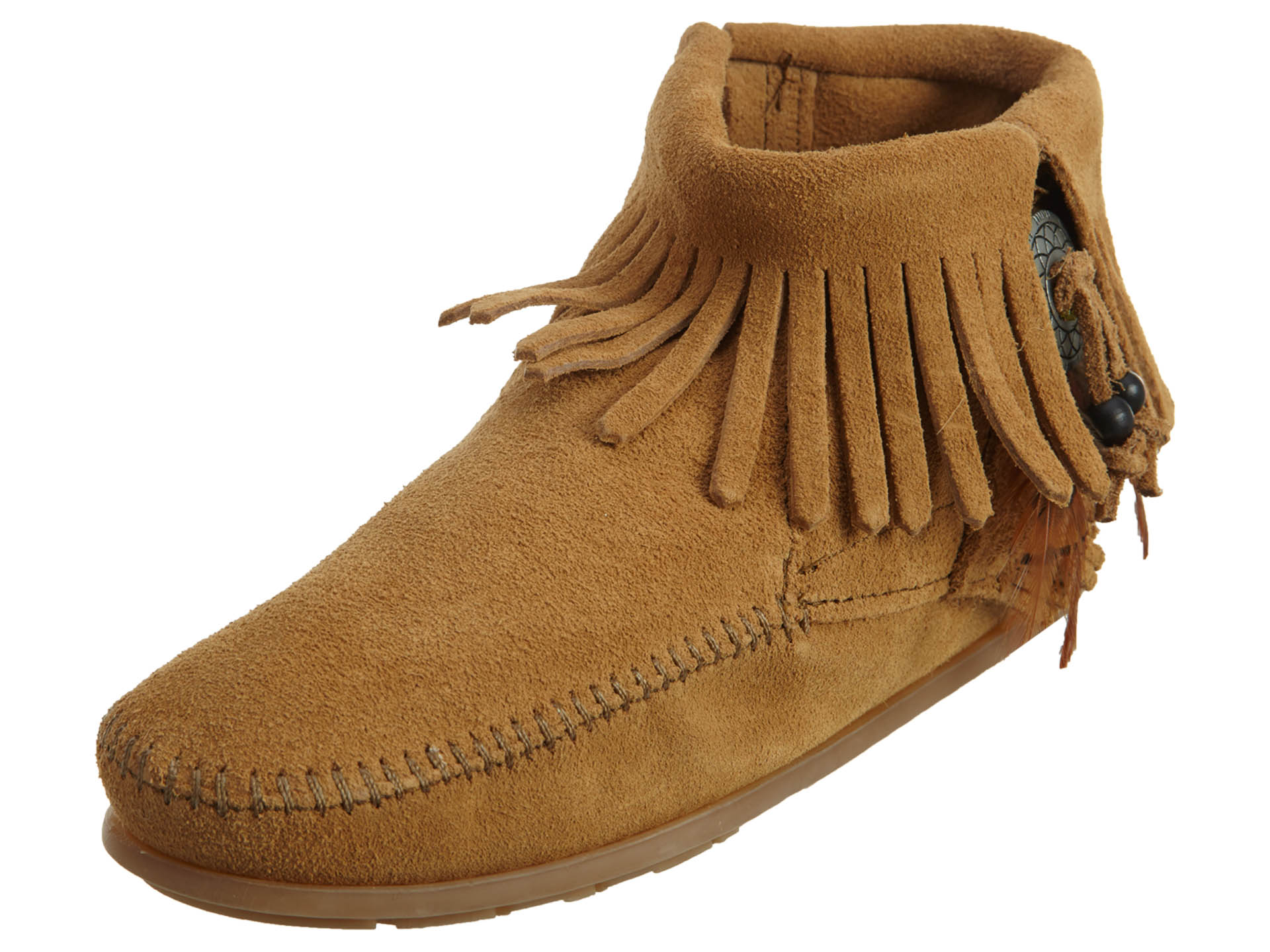 Minnetonka Concho Feather Boot Womens Style : 527t by MINNETONKA