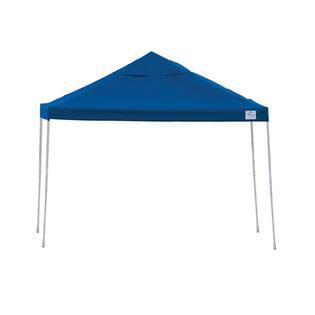 Open Top Pro Slant Leg 12 x 12 ft. Pop-up Canopy ( Blue )