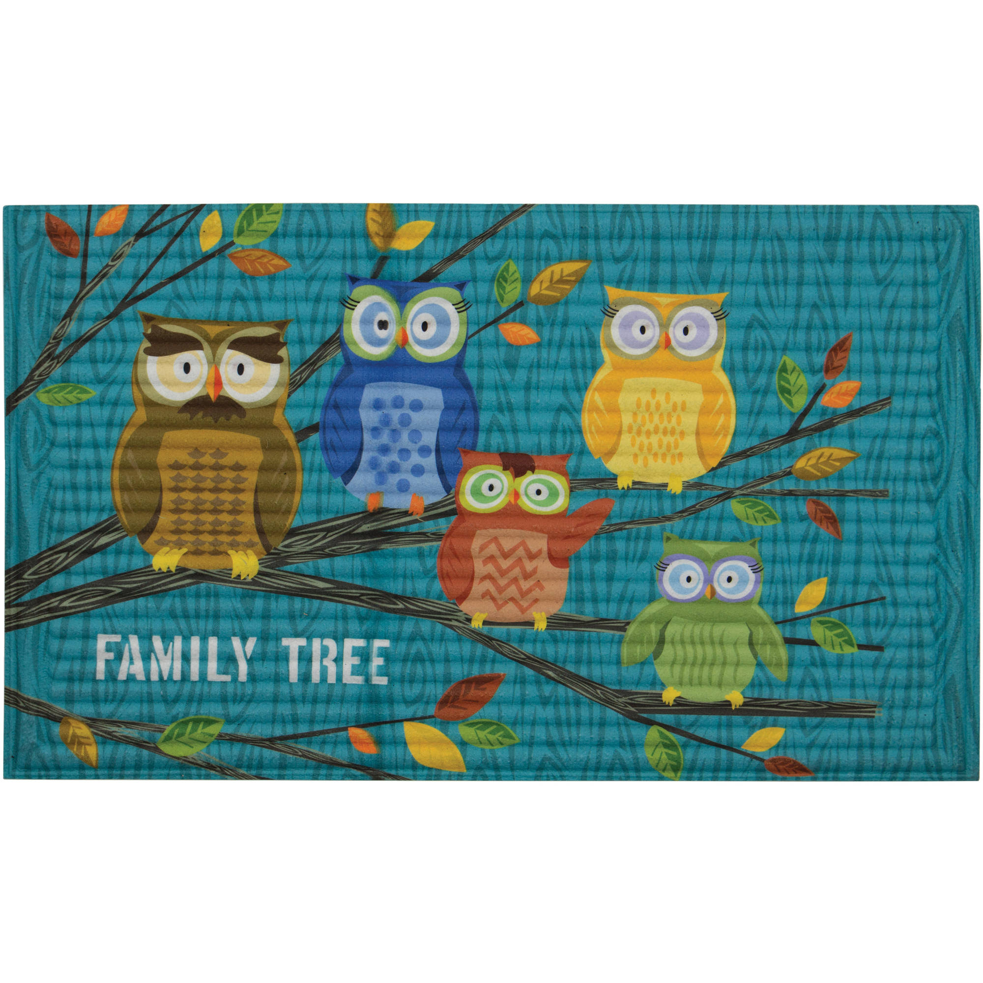 better homes and gardens 3d family tree owls 18 x 30 walmart