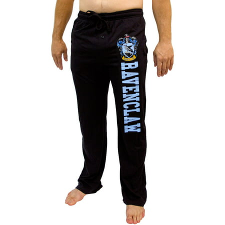 Harry Potter All Houses And Hogwarts Crest Men's Pajama Pants - 5 Styles