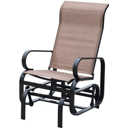 Patiopost Sling Glider Outdoor Patio