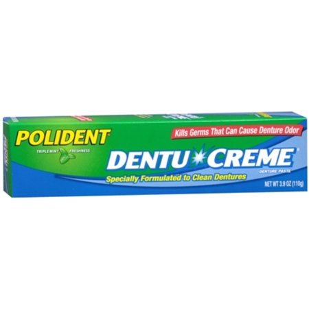 - Polident Dentu-Creme 3.90 oz (Pack of 6)