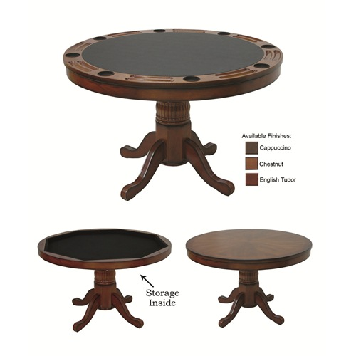 RAM Game Room Game Table, Chestnut - 48''