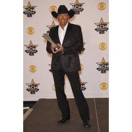 George Strait In The Press Room For 50Th Academy Of Country Music Awards 2015 - Press Room Arlington Convention Center Arlington Tx April 19 2015 Photo By MoraEverett Collection Celebrity (Arlington Collection)