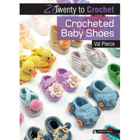 (Crocheted Baby Shoes)