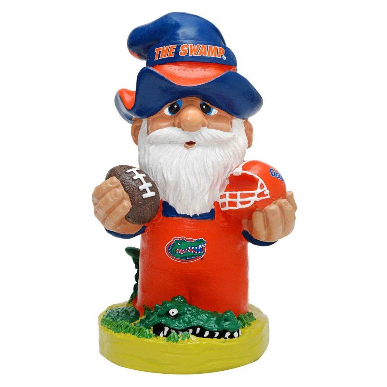 Florida Gators NCAA Garden Gnome 11 Thematic (Seco