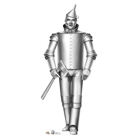 Tin Man - Wizard of Oz Cardboard Cutout Life Size Party Prop Decor Birthday Party Supplies Size - 72