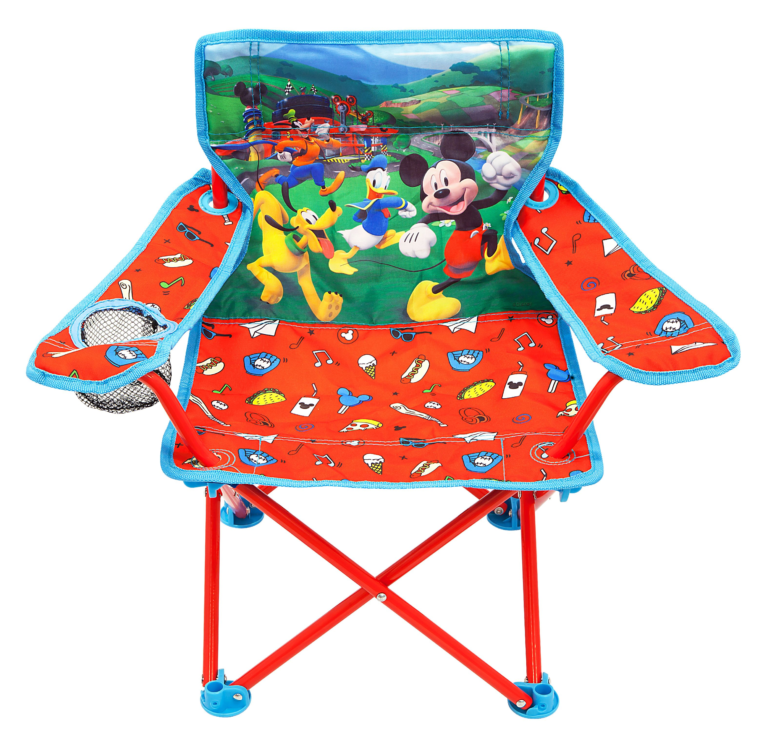 MICKEY MOUSE ROADSTER RACERS FOLD Nu0027 GO CHAIR  sc 1 st  Walmart & Mickey Mouse Chairs