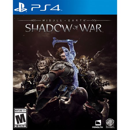 Middle Earth  Shadow Of War Walmart Exclusive Playstation 4  Ps4